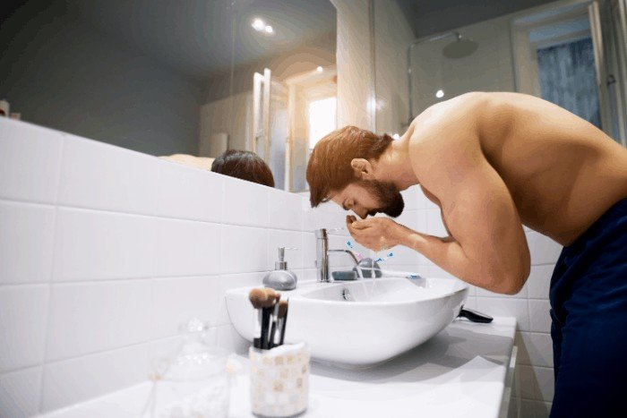 Face Care for Men: Facial Cleansing