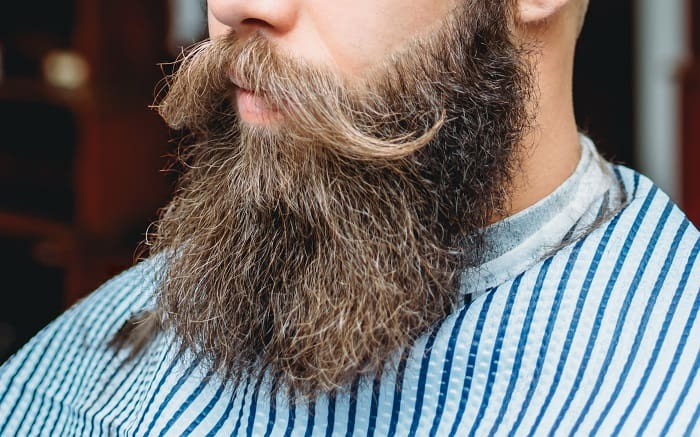 Why does mustache grows slower than beard